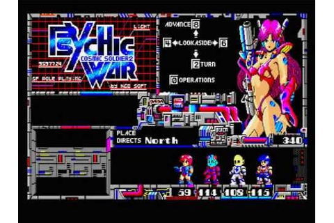cosmic soldier 2 - psychic war for MSX2 - YouTube