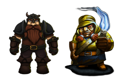 Designing the Difference – Pitman and Dwarf Quest compared ...
