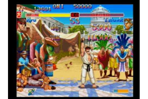 Street Fighter Anniversary Collection - Gameplay ...