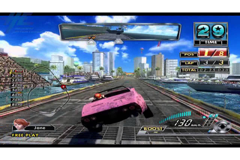 Sega Race TV (Japanese version) - Gameplay Capture 2 - YouTube