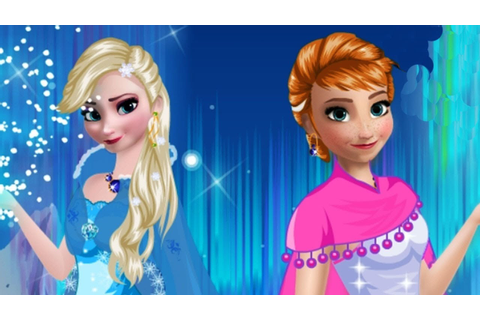 Elsa and Anna Frozen 2 Makeup Game Disney Frozen Princess ...