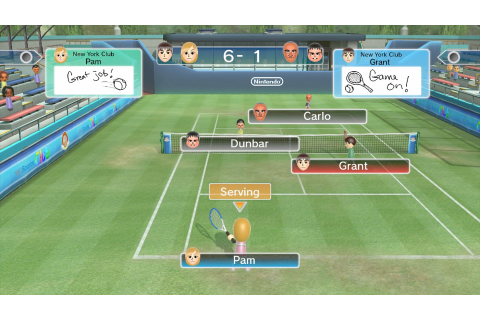 Wii Sports Club: Tennis (Wii U eShop) Game Profile | News ...
