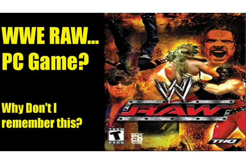 A Wee Look At: WWE RAW (2002) PC Game - YouTube