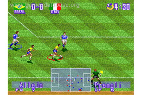 International Superstar Soccer Deluxe - Nintendo SNES ...
