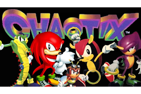 Knuckles Chaotix - Walkthrough - YouTube