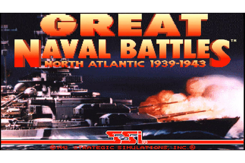 Great Naval Battles I: North Atlantic 1939-1943 (PC/DOS ...