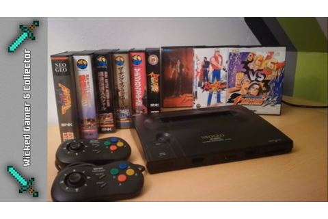 Neo Geo AES Home Arcade Retro Console Collection - YouTube