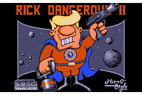 Download Rick Dangerous 2 action for DOS (1990 ...