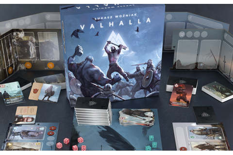 Go On Board's Valhalla Card Game Now On Kickstarter ...