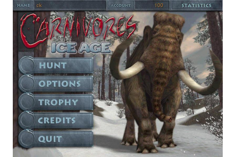 Carnivores: Ice Age Download (2001 Arcade action Game)