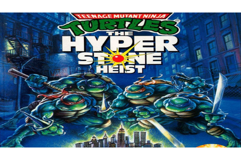 Teenage Mutant Ninja Turtles The Hyperstone Heist Full 2P ...
