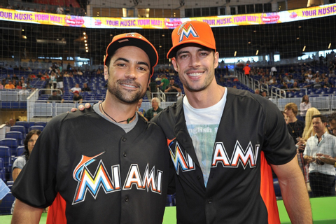 Baseball, Miami Style! - Hometown celebrities Danny Pino ...
