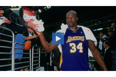 #NBATogetherLive: Re-watching Shaquille O'Neal's career ...