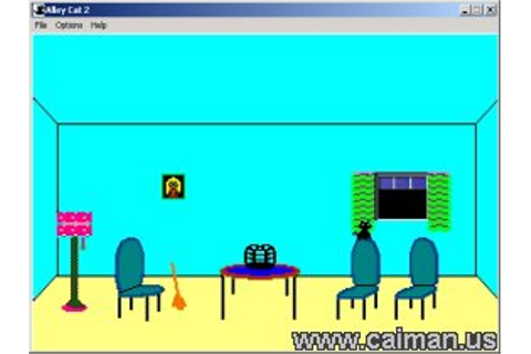 Caiman free games: Alley Cat 2 by The Thinker.