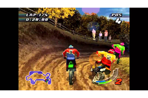 Jeremy McGrath SuperCross 98 ... (PS1) - YouTube