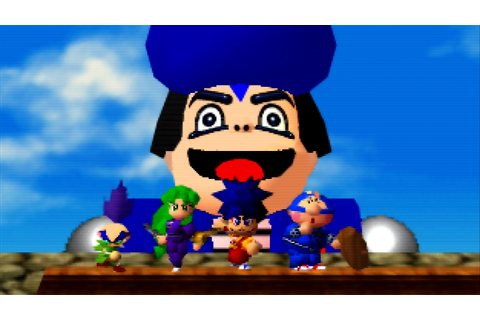 Mystical Ninja Starring Goemon on Qwant Games