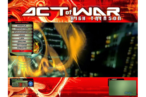 Act of War - High treason Full Pc Gmae | Download PC Games ...