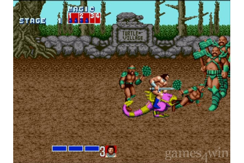 Golden Axe Download on Games4Win