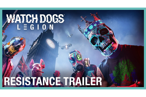 Watch Dogs: Legion on PS4, Xbox One, PC, Stadia | Ubisoft (US)