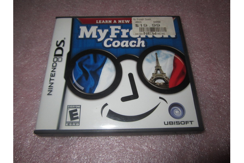 Free: My French Coach Nintendo DS Game LOW GIN - Nintendo ...