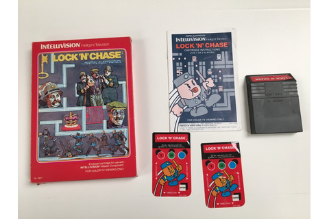 Lock n Chase - For Sale - Game Bytes - Retro Video Games ...