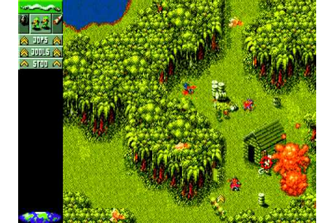 Cannon Fodder, Amiga - Part 1 - Ain't Played In Ages - YouTube