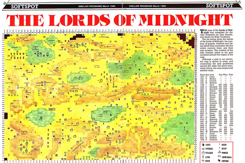 Lords of Midnight : Scrapbook