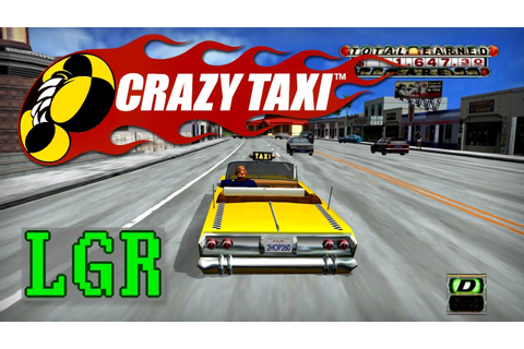 LGR - Crazy Taxi - PC Game Review - YouTube