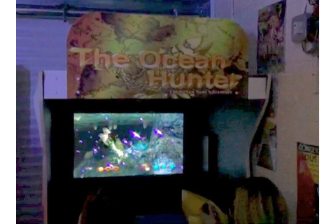 Rare The Ocean Hunter Sega 1998 DLX Arcade Machine | in ...