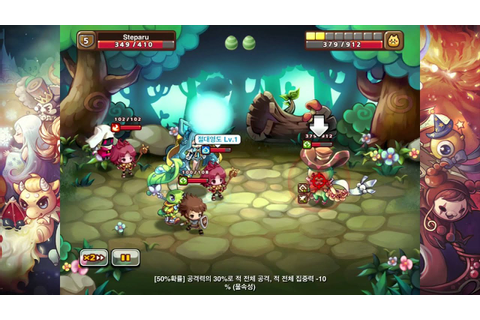 Monsters and Knights 2D Chibi RPG Gameplay HD - YouTube
