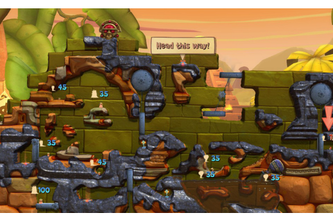 Worms Clan Wars Windows game - Mod DB