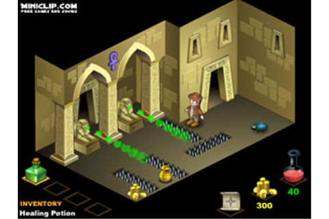 gotoAndPlay() Game reviews: The Pharaoh's Tomb