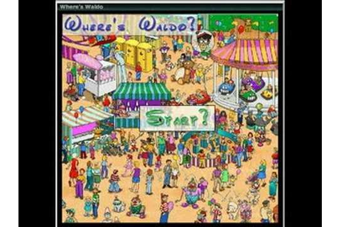 Where's Waldo at the Circus on Qwant Games