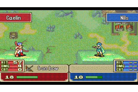 Fire Emblem( tactical role-playing video game) GBA - YouTube