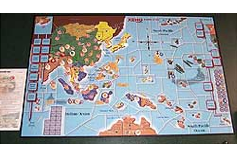 Pacific At War board game