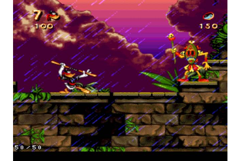 Maui Mallard in Cold Shadow - SNES - Alvanista