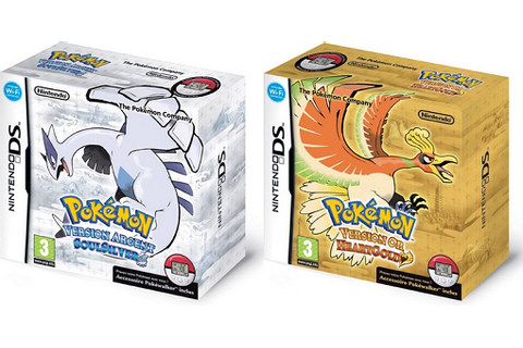 Pokémon Version Or HeartGold et Argent SoulSilver ...