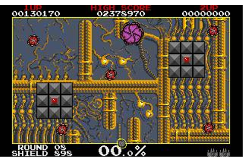 Volfied Download (1991 Arcade action Game)
