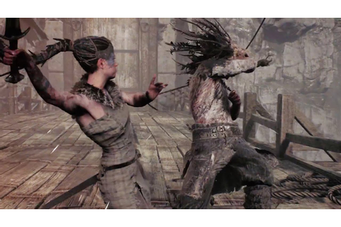 Hellblade Senua's Sacrifice Combat Gameplay - YouTube