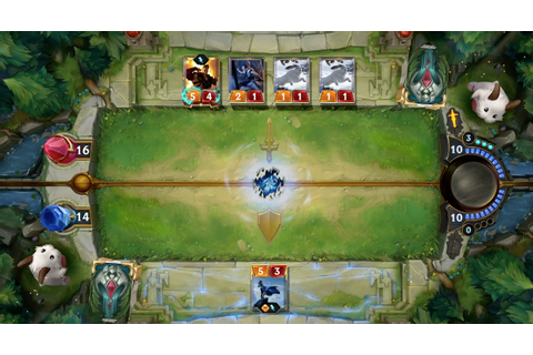 Riot Games unveils League of Legends card game Legends of ...