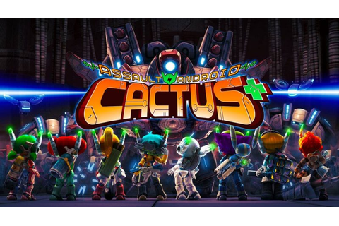 Assault Android Cactus+ Now Available On Nintendo Switch ...