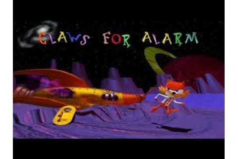 Bubsy 3D:Furbitten Planet OST - Claws for Alarm extended ...