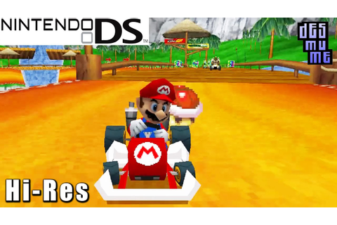 Mario Kart DS - Nintendo DS Gameplay High Resolution ...