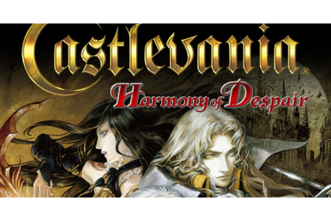 Castlevania Harmony of Despair | PSN | PS3 ISO Games | US ...