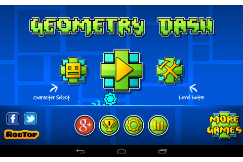 Geometry Dash – Games for Android 2018. Geometry Dash ...