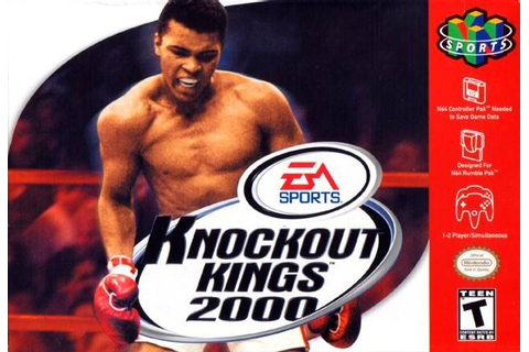 Knockout Kings 2000 Nintendo 64 Game