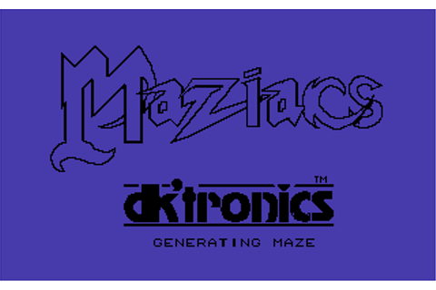 Download Maziacs (Commodore 64) - My Abandonware