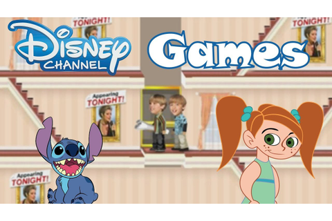 Old Disney Channel Games - YouTube