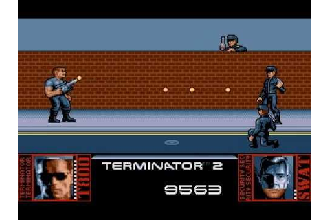 Dos Games: Terminator 2 - Judgment Day (playthrough) - YouTube