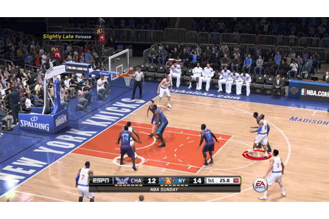 NBA LIVE 16 New York Knicks Game play - YouTube